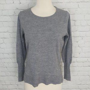 Badgley Mischka Merino Wool Sweatshirt Top L